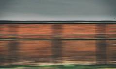 alta velocità (Rino Alessandrini) Tags: backgrounds abstract pattern outdoors textured brown velocità mosso sfocato muro mattoni movimento strada astratto speed blurred blurry wall bricks motion street