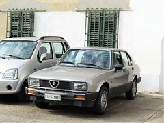 1984 Alfa Romeo Alfetta 2.0 (Alessio3373) Tags: cars oldcars classiccars youngtimers autoshite worldcars transaxle alfaromeo alfetta alfetta20 alfaromeoalfetta alfaromeoalfetta20