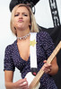 Kylie Of The Beaches (peterkelly) Tags: thebeaches kyliemiller digital panasonic lumix zs50 canada northamerica music musician festival concert 2017 cbcmusicfestival echobeach toronto ontario blue blonde guitar guitarist player playing necklace beautiful hot woman pouty