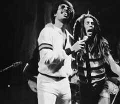 Bob Marley And Stevie Wonder Together Again! (worldwarXP) Tags: bob marley bobmarley rasta steviewonder wonder stevie jazz pop funk reggae rock music rare live concert dreads afro black usa jamaica 70s 1979