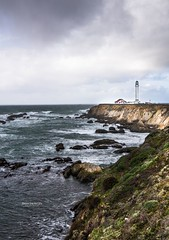 Point Arena Lighthouse 2 (Brian Snowden Photography) Tags: california beauty joy interesting pentaxk3 northerncalifornia pentax1530 tamron1530 landscape gloomy weather cloudy overcast rain pointarena lighthouse colors detail wiode
