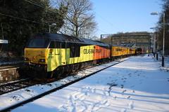 "Colas 67027 ""Charlotte"" and 67023 ""Stella"" @Kidsgrove (uksean13) Tags: 67027 charlotte 67023 stella colas testtrain diesel kidsgrove snow railway canon 760d efs1855mmf3556"