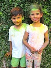 03-04-18 Holi Festival 03 (Leo & Luna) (derek.kolb) Tags: mexico yucatan merida family