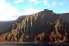 Sea Shell Mountain (chantsign) Tags: hawaii kauai napalicoast clouds green ridges water waves lateafternoon