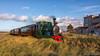 Steam tram locomotive RTM 54 (BraCom (Bram)) Tags: 169 54 bracom bramvanbroekhoven brouwersdam goereeoverflakkee holland nederland netherlands orensteinkoppelag portzélande rtm rtm54 building cloud gebouw gras grass historical historisch locomotive rails rook smoke steamtrain tram widescreen wolk ouddorp zuidholland nl stoomtramlocomotief steamtramlocomotive saariysqualitypictures