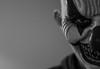 (pacosanchez8) Tags: horror portrait photography canon blackandwhite black bw bokeh face clown halloween