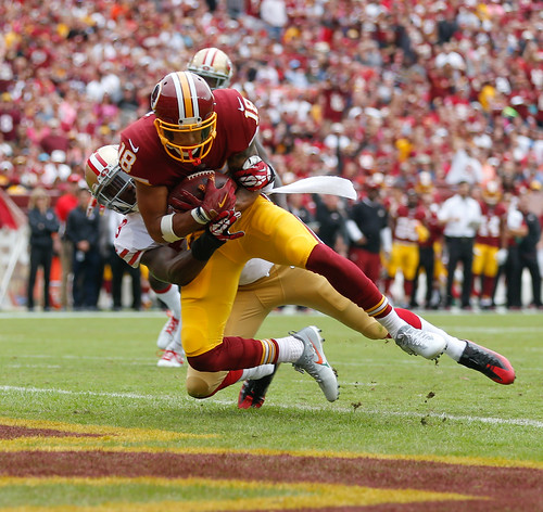 9.  Touchdown for Doctson
