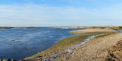 River Spey, Spey Bay, Moray Coast, Jan 2018 (allanmaciver) Tags: river spey bay water blue shades moray coast scotland stones frost freezing cold winter low view admire enjoy walk allanmaciver