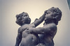 1990 amsterdam rijksmuseum 001 (francois f swanepoel) Tags: 1990 amsterdam holland retro rijksmuseum slidescans statue touch