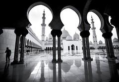 DSC2271 (Elvir72) Tags: sheikhzayedgrandmosque religionbuilding blackandwhite mosque uae sonya7mark2