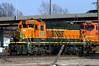 Old Girl in Topeka (Jeff Carlson_82) Tags: bnsf 1553 sd9 sd93 rebuilt rebuild topeka shops stored storage lupe ks kansas topekashops train railroad railfan railway
