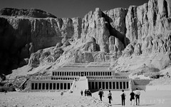 Valley of the queens 1992 (krillmerma) Tags: black white egypt ancient valley queens temple 1992