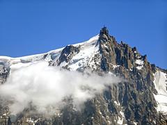 l'Aiguille du Midi. View from Le Brévent. Chamonix. (elsa11) Tags: aiguilledumidi montblancmassif lebrévent chamonix hautesavoie auvergnerhonealpes mountains montagne france frankrijk