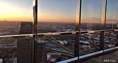 looking west over houston (boxerrod) Tags: sunset windows sunlight buildingstructure chasebank houston texas overlooking lookingdown building unitedstates concrete concretejungle