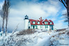 A Goal Reached (Peeblespair) Tags: northernmichigan peeblespairphotography pointbetsielighthouse lakemichigan winterlighthouse wintercoastwinterscene frozen winter