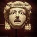 Marble Theater Mask from a peristyle garden in Pompeii Roman 1st century CE