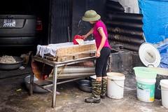 Domácí výroba tofu (zcesty) Tags: výroba vietnam23 tofu jídlo domorodci vietnam dosvěta hàgiang vn