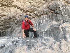 2018-02-15 GOPS Geology Hike (124) (MadeIn1953) Tags: 2018 201802 20180215 greatoutdoorsgo go gops greatoutdoorspalmspringsgops hiking california coachellavalley riversidecounty meccahills paintedcanyon laddercanyon slotcanyon scott