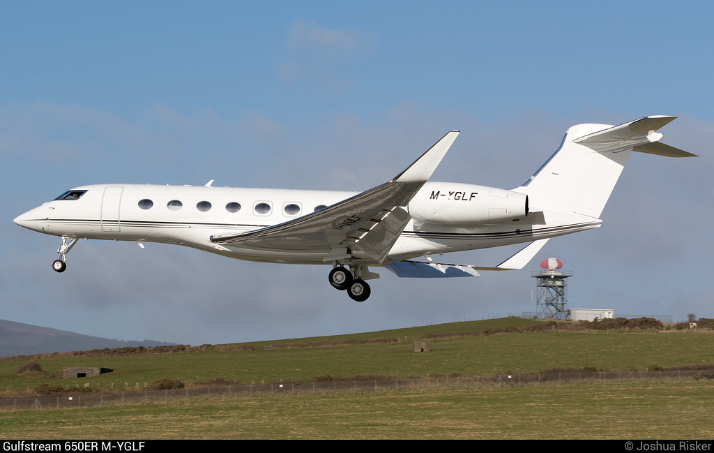 Newest gulfstream jet
