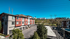 Rockwood at the Cascades, Sylmar, CA (francisXL23) Tags: 18135mm thinking posing model canon rebel t7i eos 800d sylmar california apartment complex beautiful day wide angle lens 1018mm