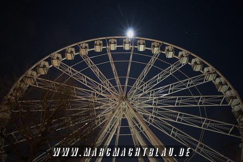 "Riesenrad mit Sternenhimmel und Mond • <a style=""font-size:0.8em;"" href=""http://www.flickr.com/photos/142542829@N07/38654252140/"" target=""_blank"">View on Flickr</a>"