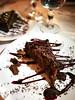 Chocolate cake (MelindaChan ^..^) Tags: italy 意大利 food eat sweet dessert choco chanmelmel mel melinda melindachan restaurant cuisine meal dinner lunch dish plate italian