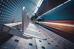 [underground series: city killerz] (depthobsessed) Tags: metro metrostation geometry germany longexposure lowpov lightbeams lines depthobsessed ubahn ubahnmünchen urbex futuristic architecture architecturephotography sonyalpha alphaddicted wideangle sonyilce7m2 sonyfe1635mmf4zaoss