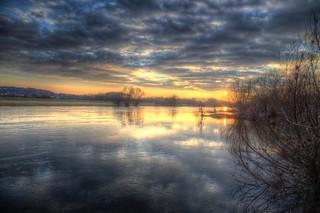 February Riverside