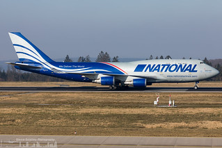 N952CA National Airlines Boeing 747-428(BCF) (HHN - EDFH)