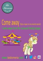 Gira y gira...  #laidiomeria #comeaway #carousel #carrusel #giostra #tiovivo #unicorno #unicornio #unicorn #dizzy #mareo #lunapark #feria #animals #animali #fun #divertente (laidiomeria) Tags: tiovivo unicorno fun comeaway unicorn unicornio divertente laidiomeria dizzy animals animali giostra lunapark carousel feria mareo carrusel