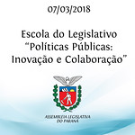 Palestra Escola do Legislativo sobre