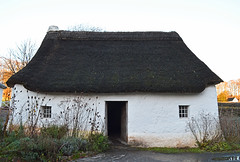 Nant Wallter mud built cottage : Explored (cmw_1965) Tags: taliaris carmarthenshire mud clom cottage 18th century 1770 grade 2 listed wales welsh st fagans museum cardiff thatched straw thatch whitewashed quaint chocolate box