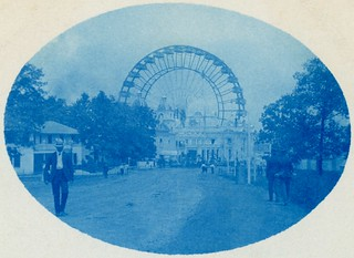 We Will Never See It Again—The Ferris Wheel at the St. Louis World's Fair, 1904 (Cropped)