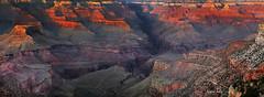 Ballad of Light (Explored) (Ramen Saha) Tags: grandcanyon grandcanyonnationalpark nationalpark sunset sunsetcolors kolbstudio southrim brightangellodge ramensaha indiangarden brightangelcanyon brightangeltrail brightangelfault
