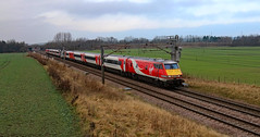 Virgin Trains East Coast - 82210 and 91101 (dgh2222) Tags: class 91 91101 dvt 82210 1y32 ecml hambleton uk railways