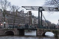 Aluminium Bridge in Amsterdam