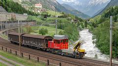 SBB 232 022 Wattinger Curve 27 May 2008 (BaggieWeave) Tags: switzerland swisstrains swiss swissrailways wassen wattinger wattingercurve sbb cff ffs gotthardrailway gotthard gotthardbahn