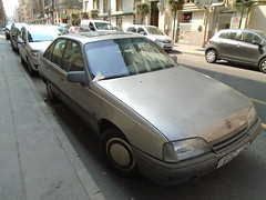 1988 Opel Omega (Alpus) Tags: opel omega rare car hungary budapest september 2016 german