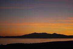 Isle Of Arran.. (Imagine8 Photography) Tags: imagine8photography dusk silhouette orange mountain goatfell arran ayrshire scotland westkilbride sea sunset coastal