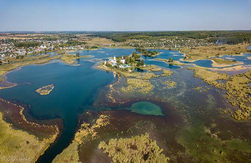 Panorama of Vorsma lake (2)
