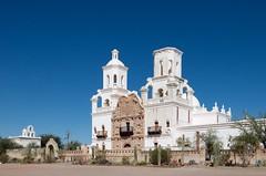 San Xavier del Bac (dangr.dave) Tags: architecture arizona az downtown historic pimacounty tucson