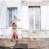 Dodging Drops - Jarnac (Mike Cordey) Tags: jarnac umbrella rain france