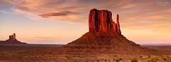The Wild West Country (A Camera Story) Tags: arizona monumentvalley navajonation panorama sunset