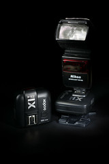 Nikon DB-600 with Godox X1n Triggers (ZoesDad_70) Tags: nikon sb600 flash godox trigger receiver paint light