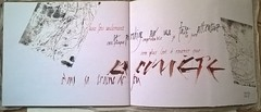 Calligraphie sur carnet (10).