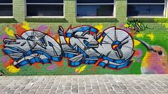 Dino... (colourourcity) Tags: streetart streetartaustralia streetartnow graffiti graffitimelbourne melbourne burncity awesome nofilters colouurourcity dino