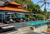 Pool by the Lounge (A. Wee) Tags: bali indonesia 巴厘岛 印尼 hilton resort hotel 希尔顿 酒店 swimming pool 游泳池