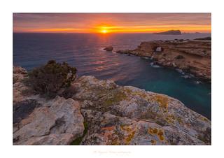 Sunset in Sa Figuera borda