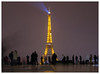 Eiffel Tower (Mark Dyer @ Island Picture Framing) Tags: eiffeltower paris night illuminated france watching eiffel tower trocadéro view
