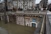 Where is the Toilet? (MrBlackSun) Tags: flood floods inondation paris france seine laseine riverseine nikon d810 landscape cityscape